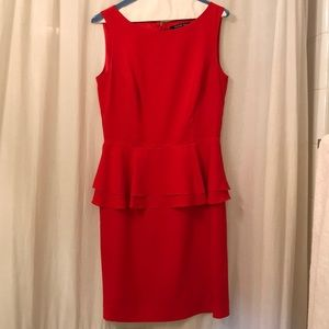 Gianni Bini bright red Dress!